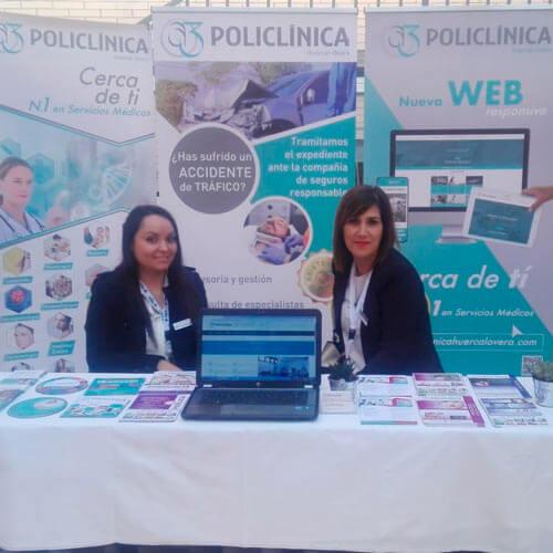 Participando en las Jornadas Interdisciplinares de Emergencias en Almería