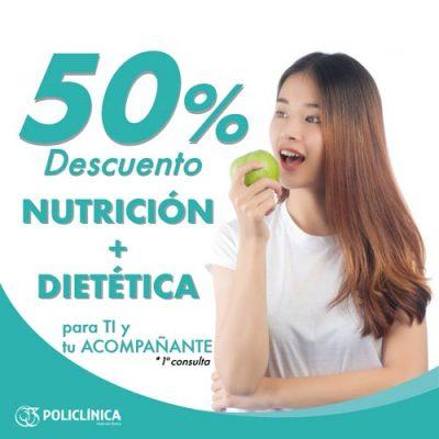 Descuento en Nutrición y Dietética